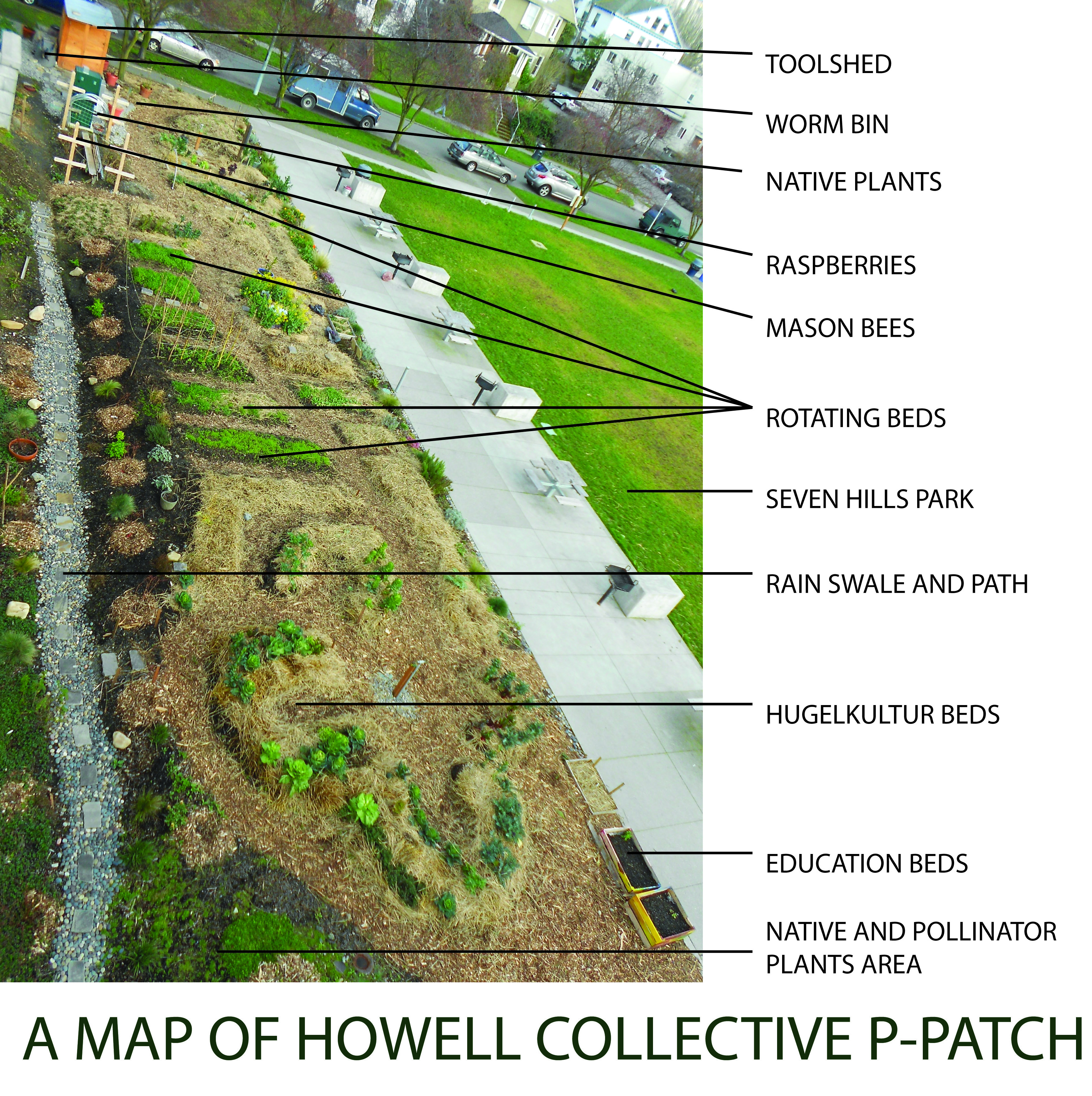 MAP OF HOWELL PPATCH